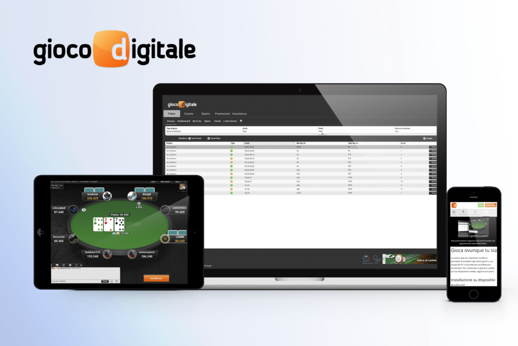 Poker Gioco Digitale